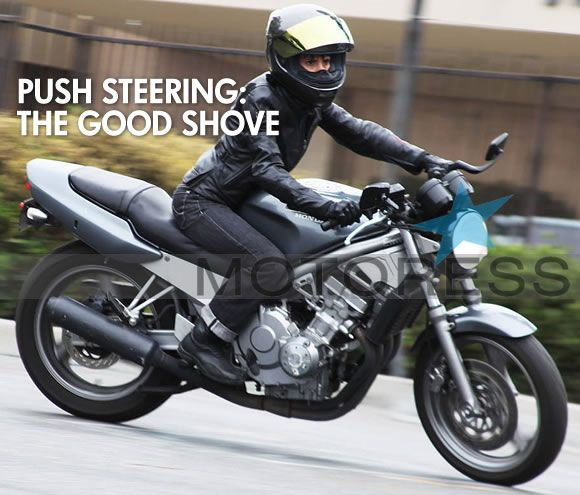 Push Steering a Motorcycle – Must Have Skill – MOTORESS
