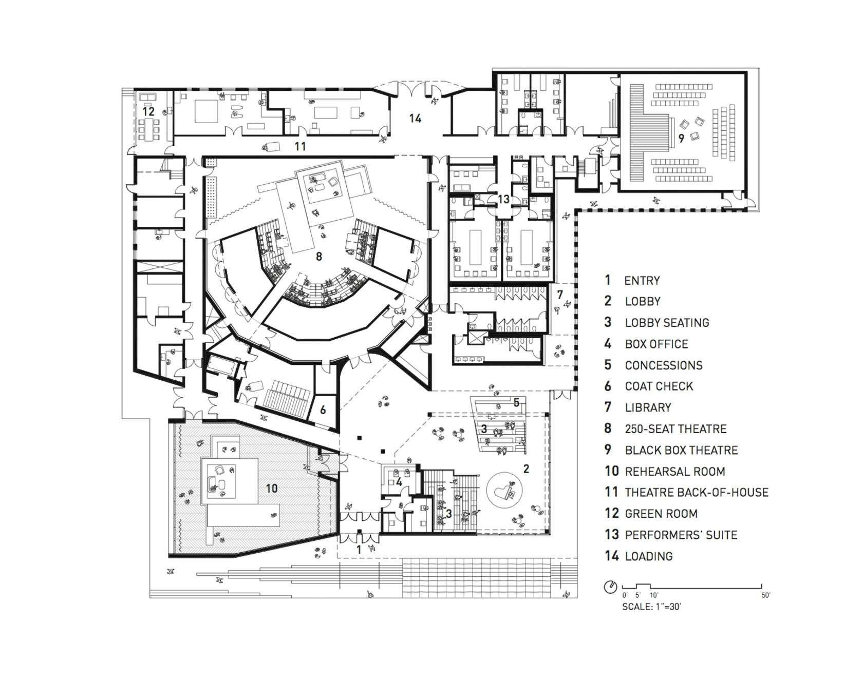 Writers Theatre Theatre Architecture Theatre How To Plan