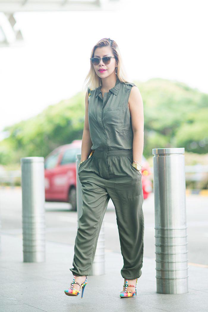 0b4c48cf2bcf Army Green CrystalPhuong- Singapore Fashion