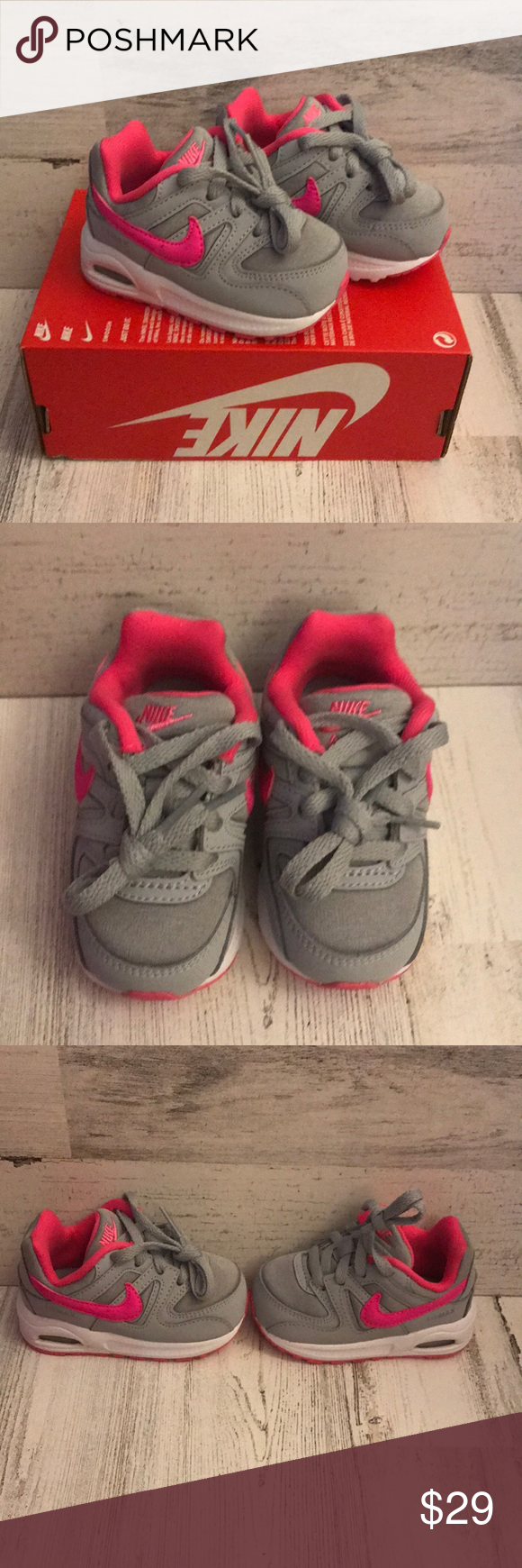 0471f9fb2a3c1 NWT Nike Air Max Command Brand new in box (no top) Nike Girls Air Max  Command Flex Size 4c and 5c available Nike Shoes Baby   Walker