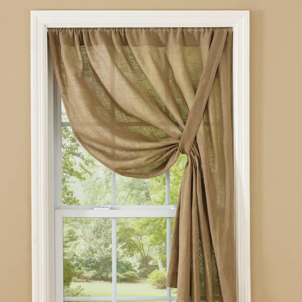 Country Curtains Curtain Tie Backs Diy Curtains Custom Made