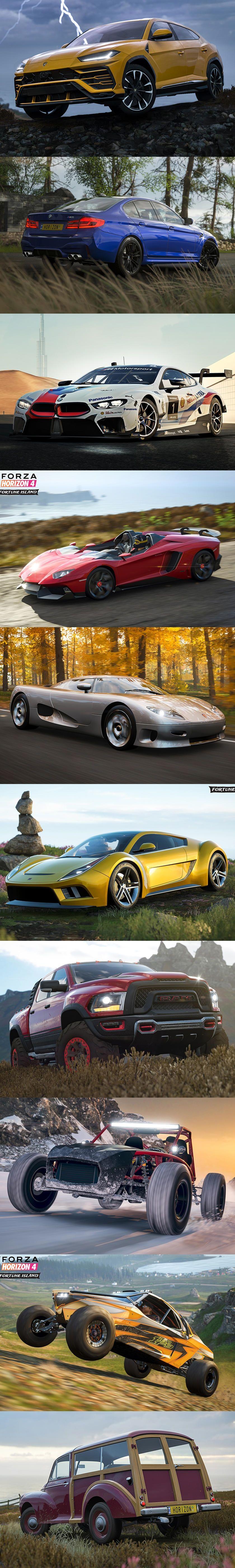 Lambo Urus And Bmw M5 Come To Forza Horizon 4 Forza Horizon 4 Forza Bmw M5