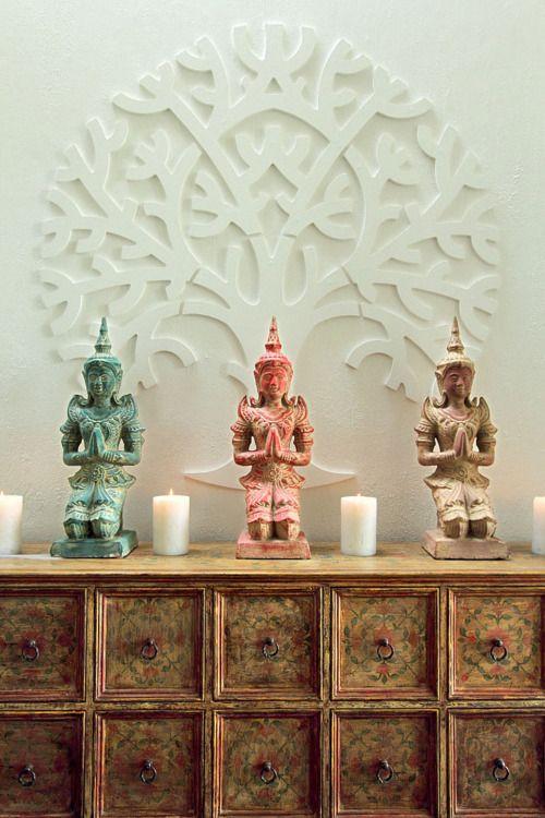 Pin de shu lee en interior ideas pinterest budas zen for Decoracion casa budista