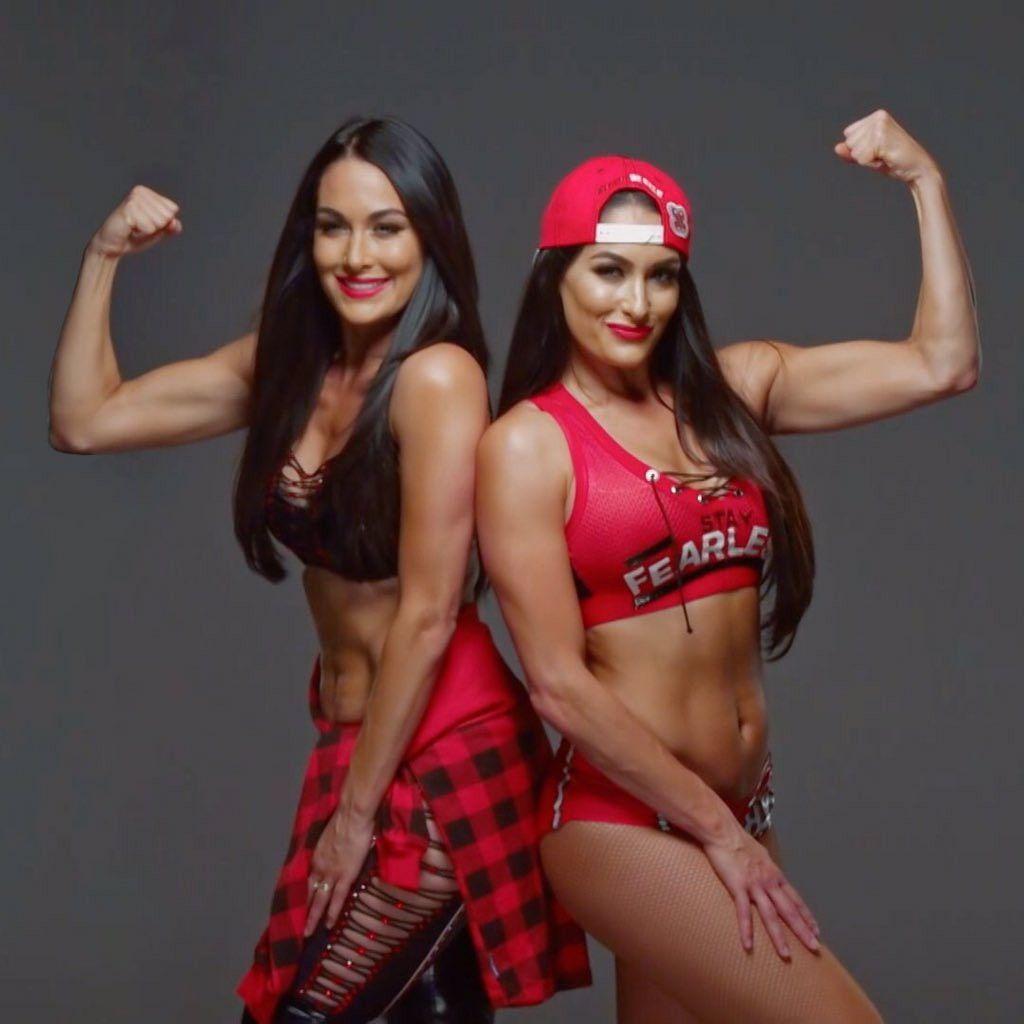 WWE Superstars Brie Bella (Brianna Garcia Danielson) And