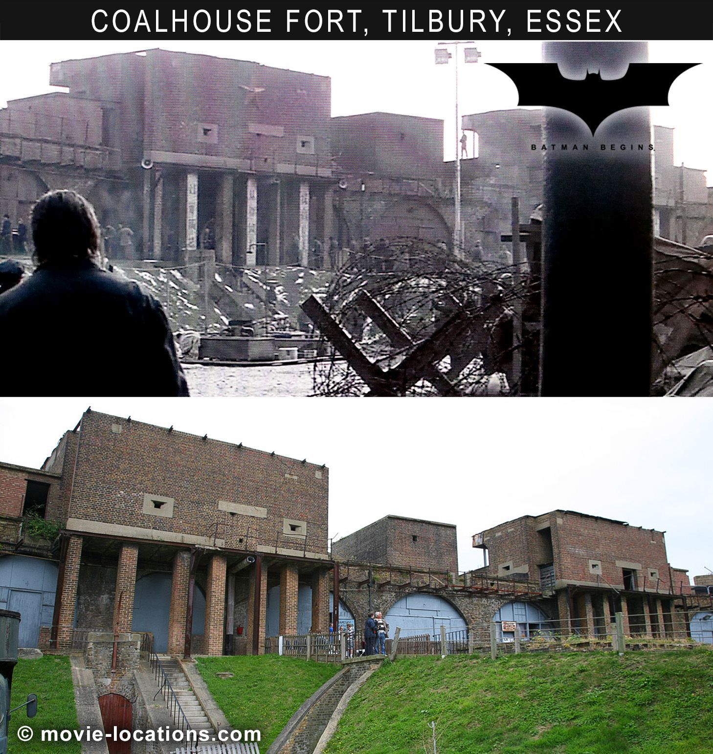 Filming Locations For Christopher Nolan S Batman Begins 2005 In Chicago London The Uk And Iceland Movie Locations Batman Begins Filming Locations