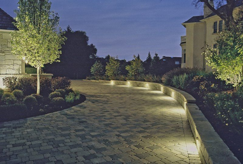 Deck and wall lighting outdoor accents lighting for Landscape accent lighting
