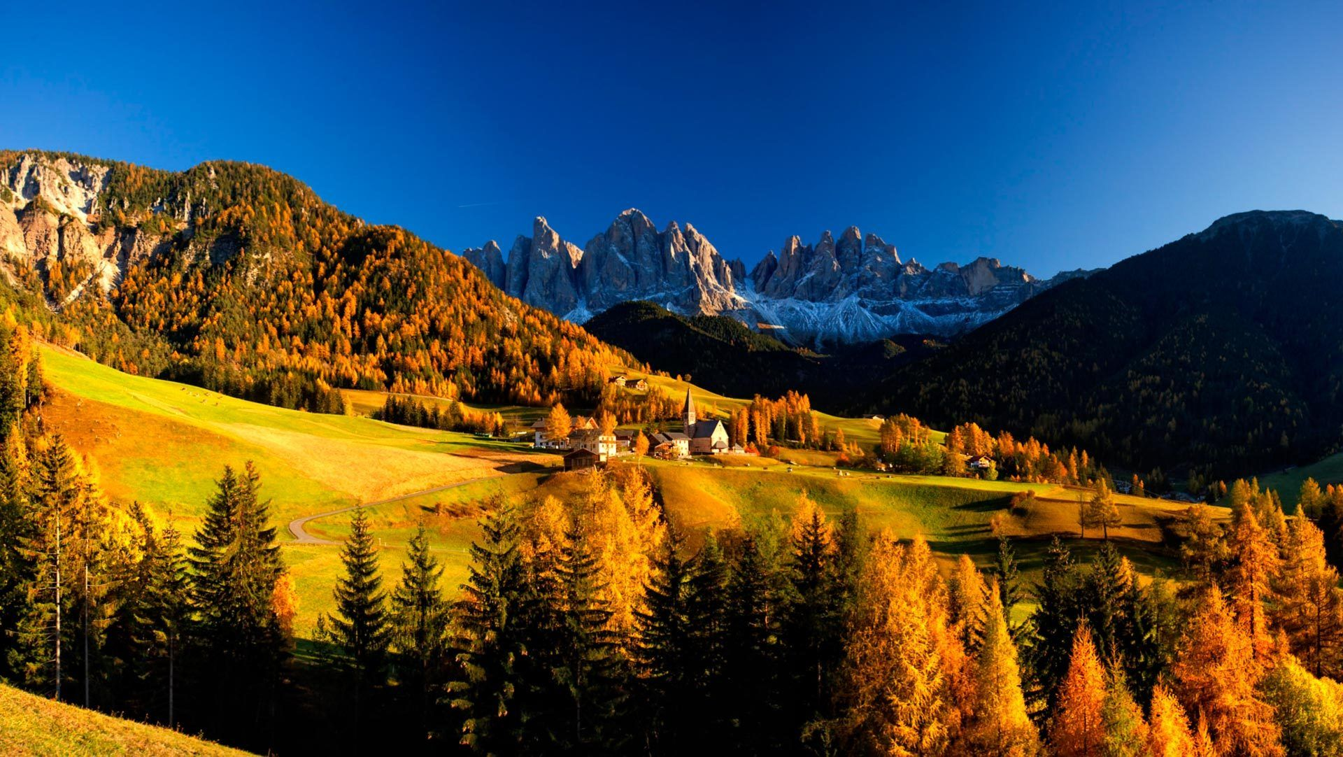 Church of St. Magdalena Val di Funes, Italy Italy