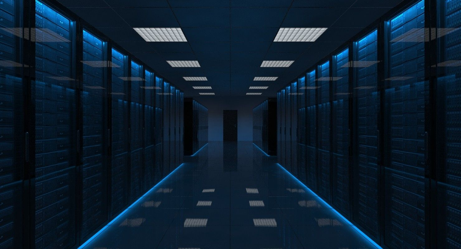3Ds Max Server Room - 3D Model | Data Centers, Server Rooms & Tech ...