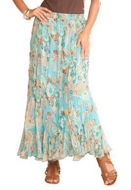 fbd79d8394f6a Asian Print Skirt