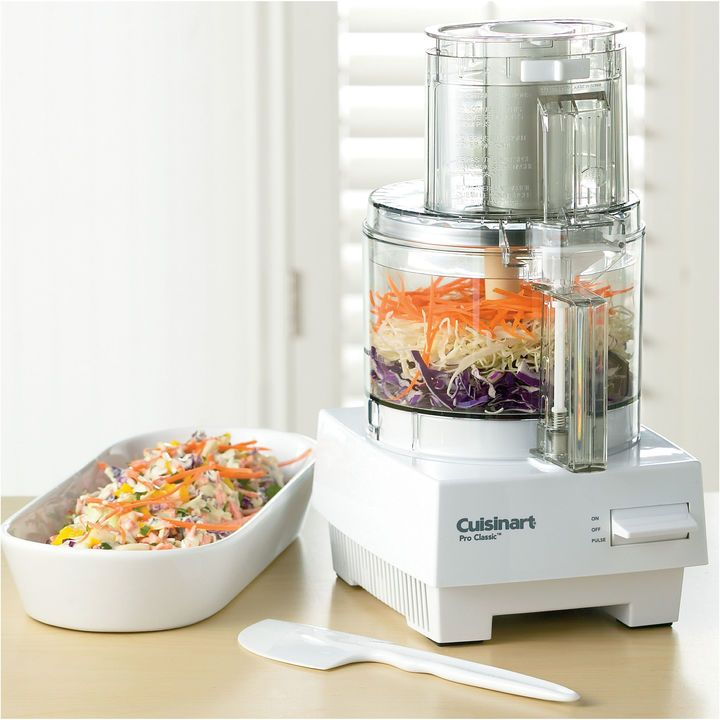 Cuisinart Pro Classic 7 Cup Food Processor: The Pro Classic 7 Cup Food  Processor Chops, Mixes And Even Kneads Dough. Extra Large Feed Tube Holds  Whu2026