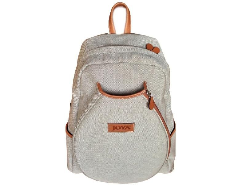 Joya Bpack T3 Tennis Bag Used Canvas Fabric With Original Leather Made By Expert Masters Hand Work A Feature Of The This Designed Bags Can Be