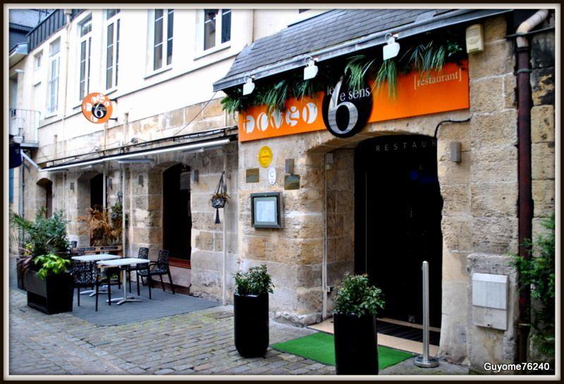Restaurant 6 Eme Sens Rouen Restaurant France