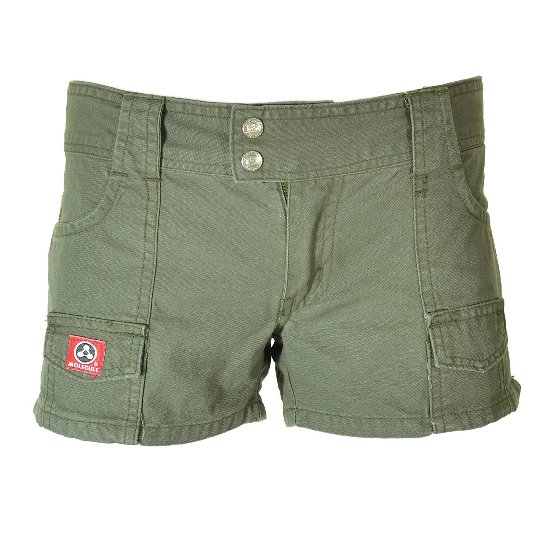Womens Hardworking Hip Huggers 45045 Ladies 100 Cotton Long Regular Fit Cargo Shorts Medium 13 Field Green At Mid Waist Shorts Cargo Shorts Ruby Roundhouse