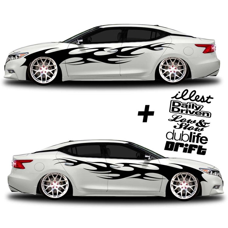 Car Graphics Custom Decals Car Wrap Cars And Custom Cars - Custom truck decals vinyls