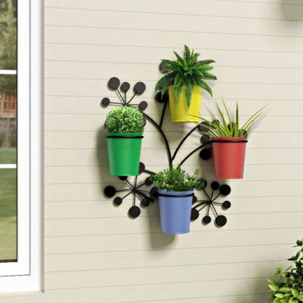 Wall Hanging Planter shaz living wall hanging planters - feel close to nature as you