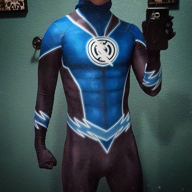 Blue lantern cosplay