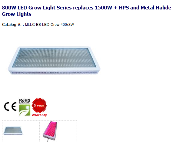 800w Led Grow Light Series Replaces 1500w Hps And Metal Halide Grow Lights Http Www Myledlightingguide Led Grow Lights Metal Halide Grow Lights Led Grow