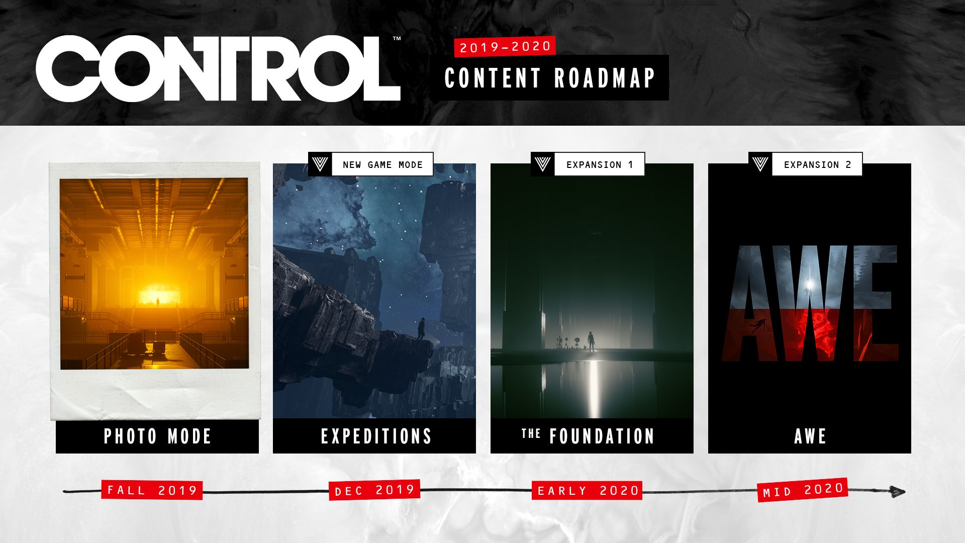 Control Future Updates and DLC Roadmap Teases Alan Wake