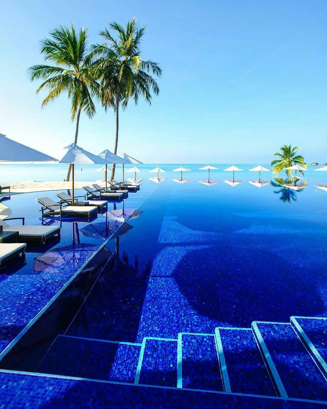 The Maldives Island - Conrad Rangali Island Resort #Maldives
