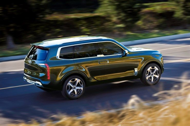 Every 4x4 Should Look As Good As The Kia Telluride Concept Suv