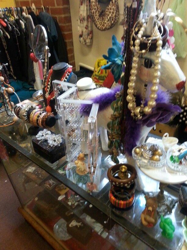 Brunswick Op-shops (Jewelry counter at Christ Church)