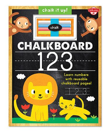 Look what I found on #zulily! Chalkboard 123 Hardcover #zulilyfinds