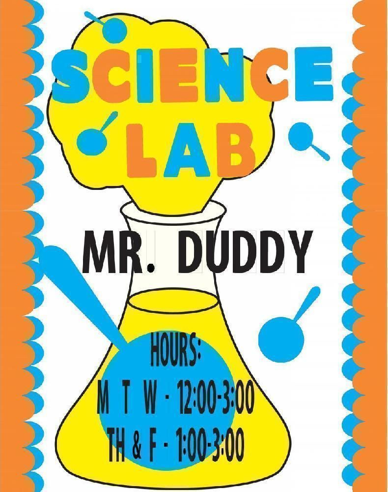 create a science lab hours poster school poster ideas classroom