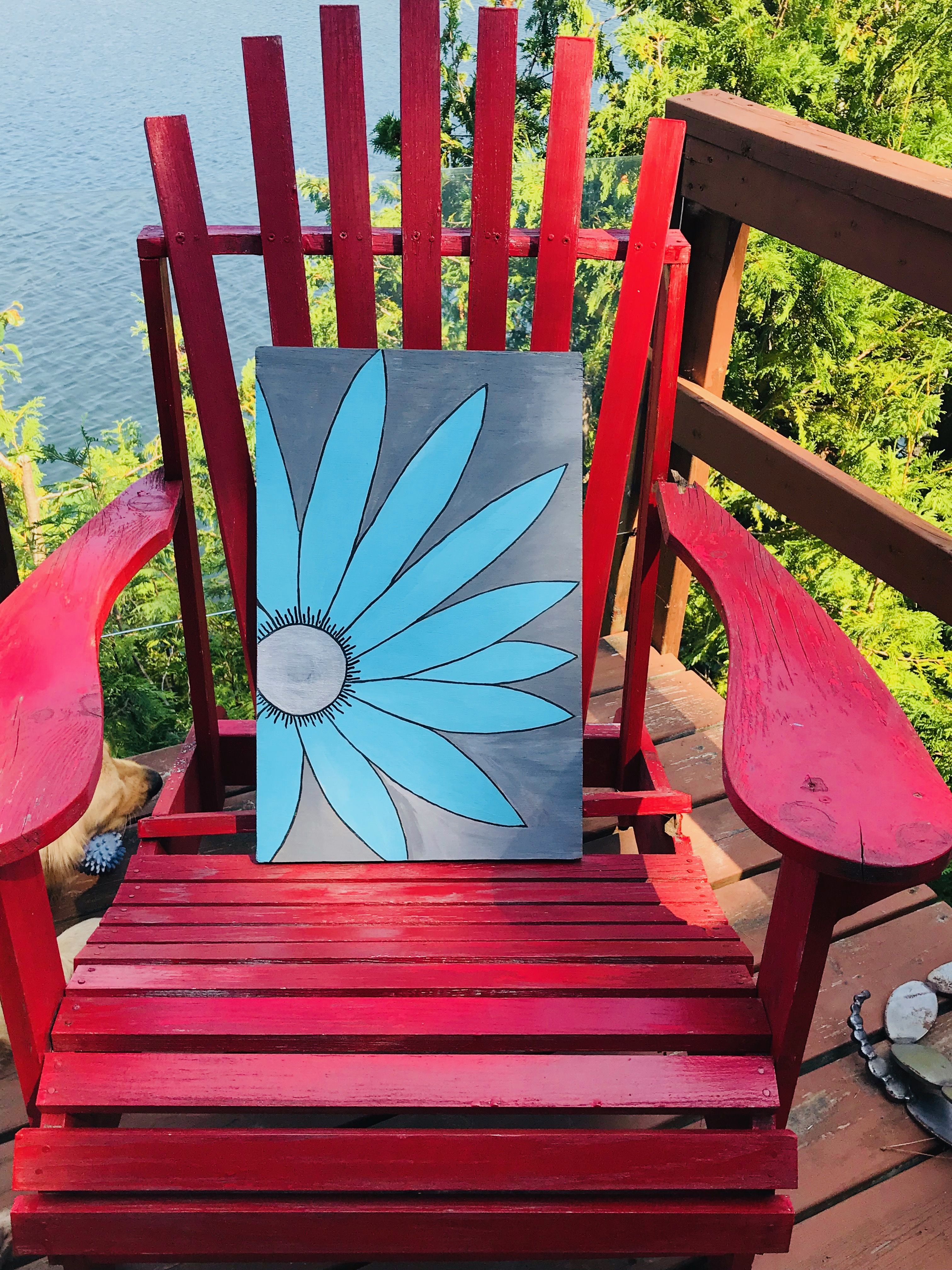 Teal matters - scrap wood upcycle | Outdoor chairs ...