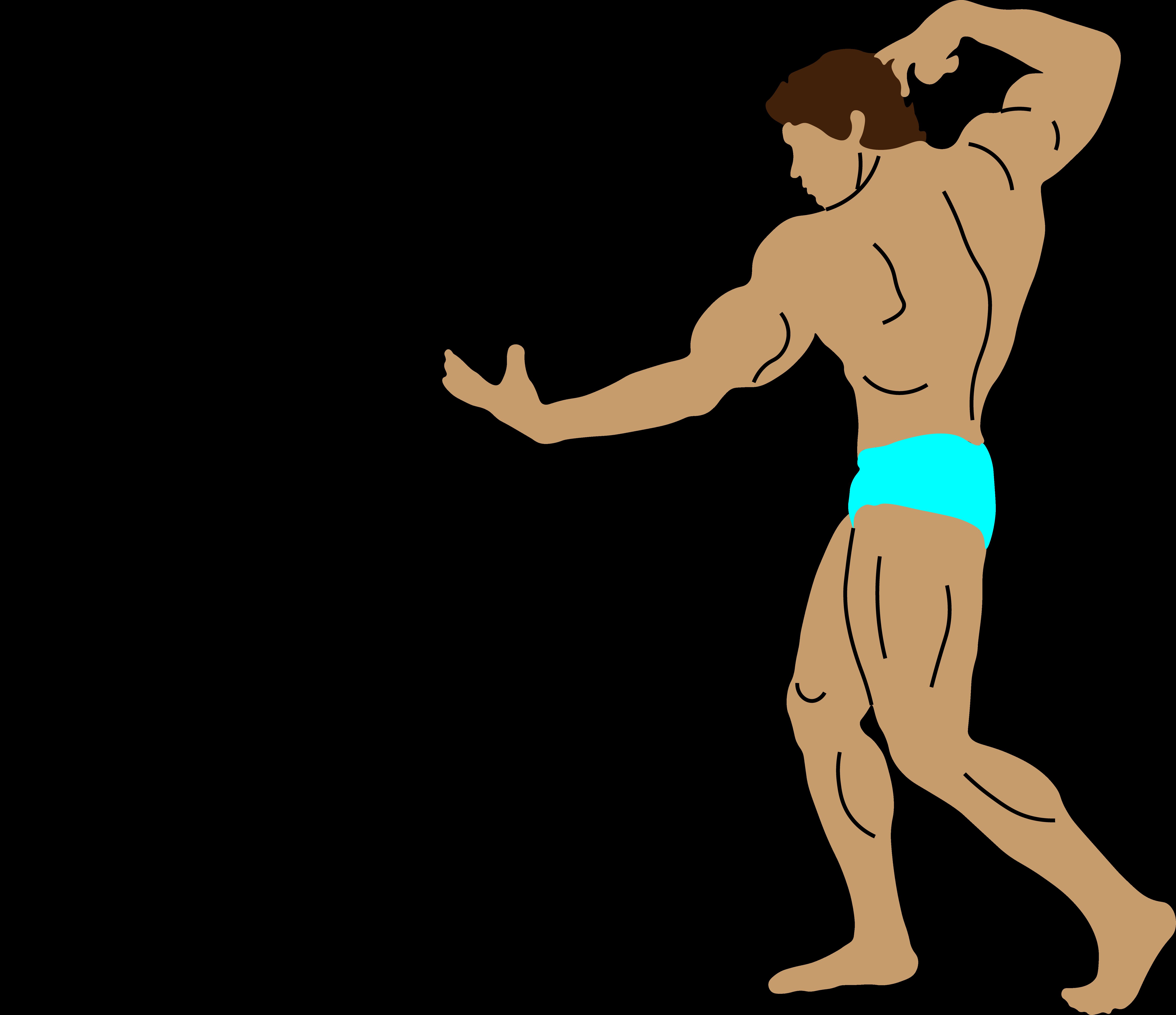 Classic Arnold Schwarzenegger Bodybuilding Pose