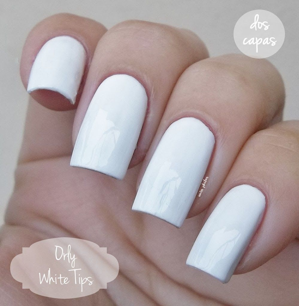 Orly White Tips Nail Colors For Pale Skin Gel Nails French Gel Nail Colors