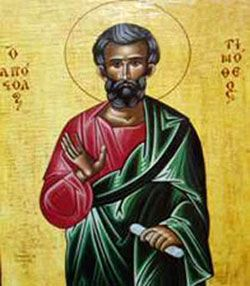 St. Timothy pray for us and all those who suffer from stomach ailments and architects.