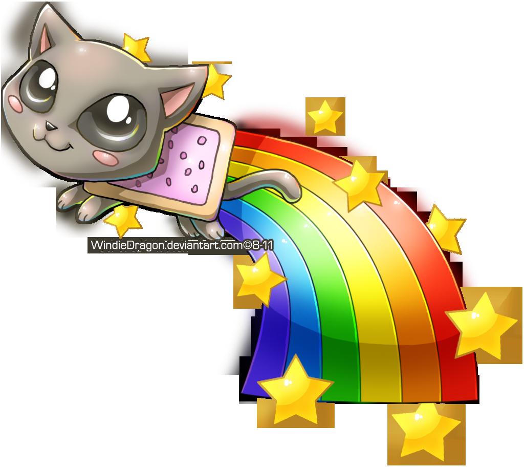 Nyan Cat Chibi By Windiedragon Deviantart Com On Deviantart