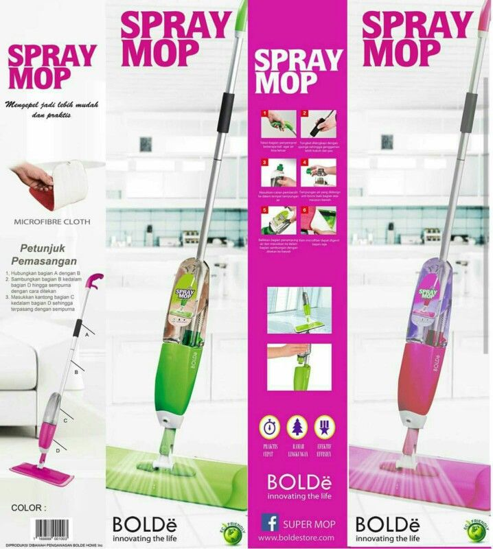 Spray mop from BOLDe