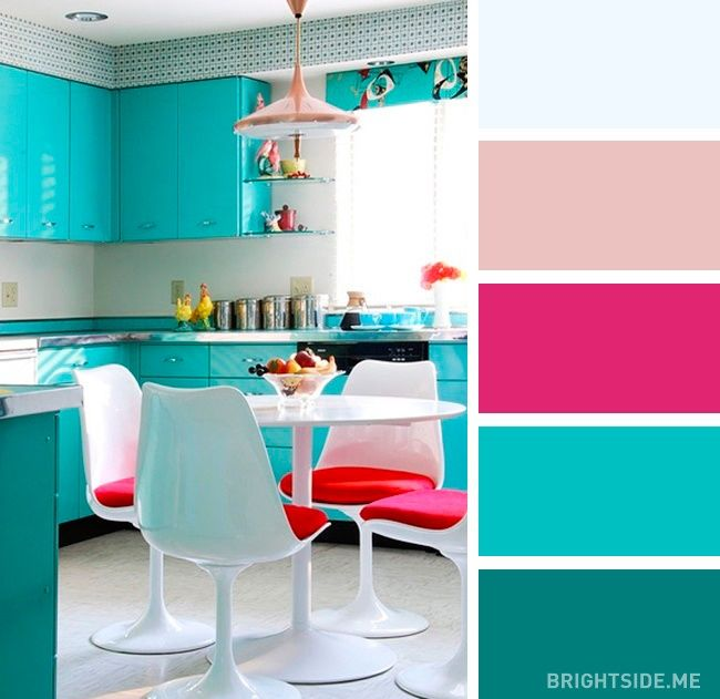 20 Enticing Kitchen Color Schemes: 20 Perfect Color Combinations To Brighten Up Your Kitchen