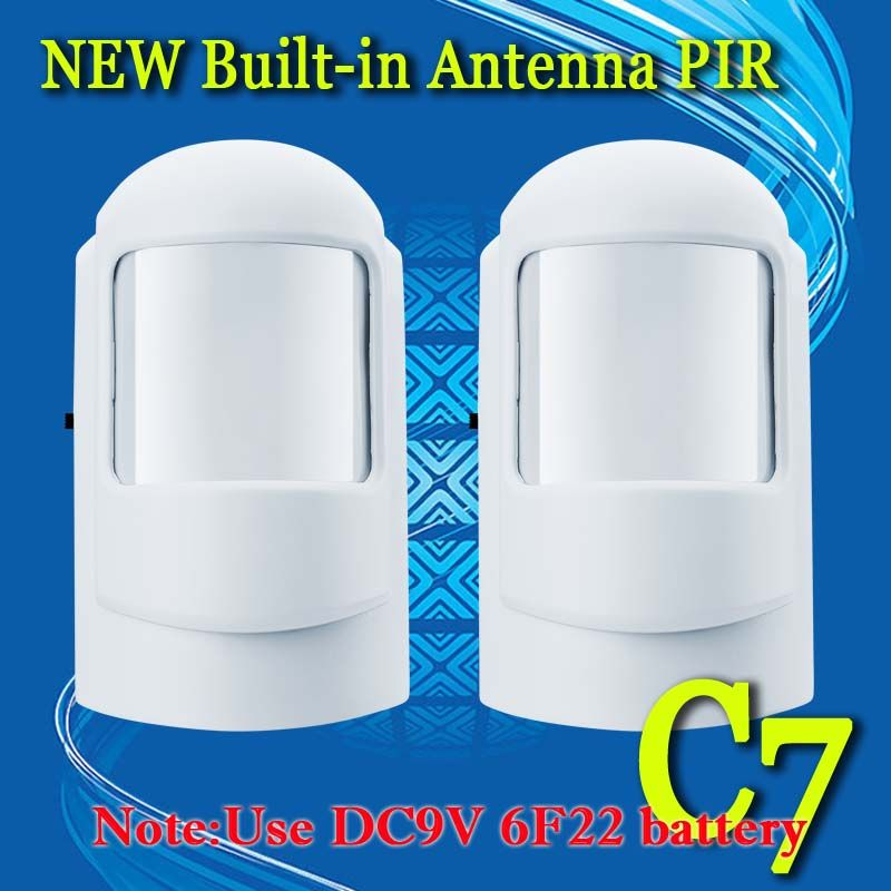 Free Shipping Wireless Pir Sensor 315mhz Or 433mhz Pir Motion Sensor Detector For Home Security Alarm 2 Pcs Lot Home Security Alarm New Builds
