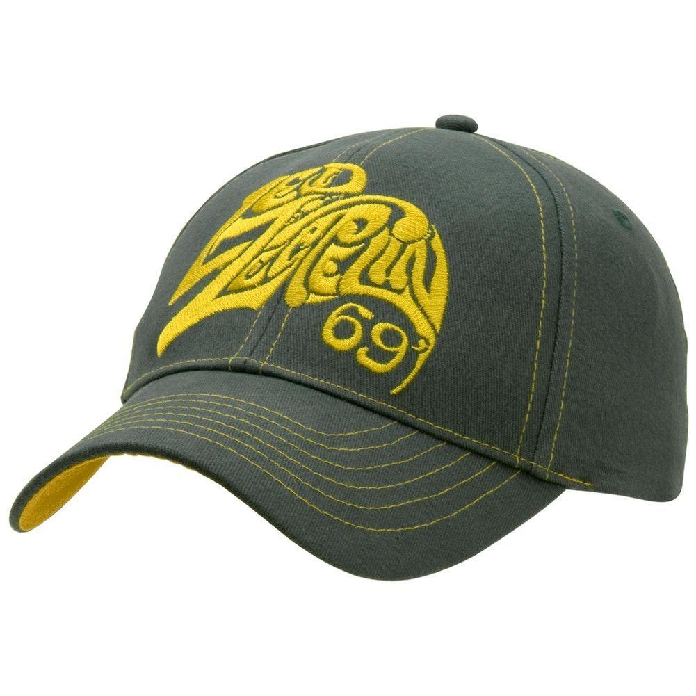 d3ef7a12ed7 Led Zeppelin - 69 Logo Adjustable Cap