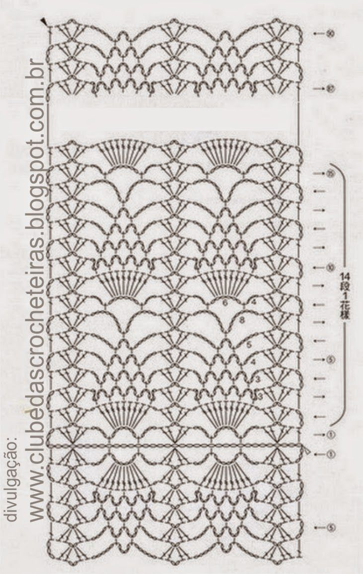 Crochet Scarf Diagrams - Residential Electrical Symbols •