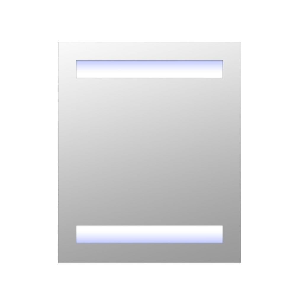 Homcom Led Spiegelschrank Weiss 60 X 50 X 15 Cm Lxbxh Spiegelschrank Badspiegel Led Badezimmerspiegel Led Badspiegel Led Und Badezimmerspiegel