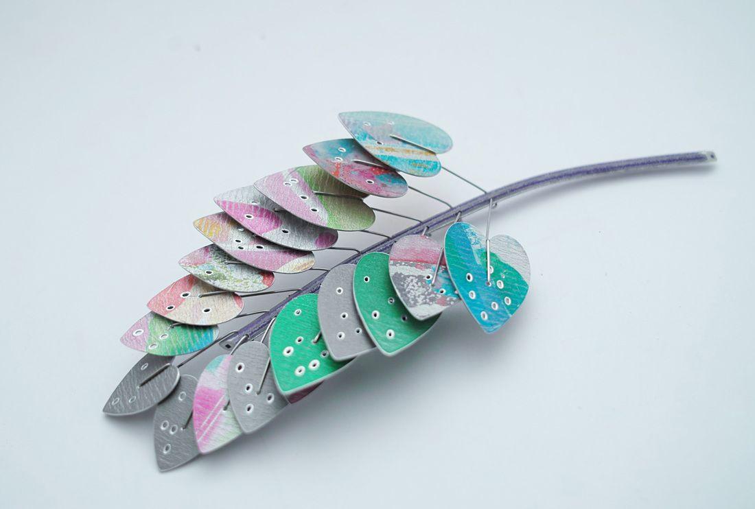 江枚芳 Mei-Fang Chiang | Botanical jewelry, Turquoise bracelet, Jewelry