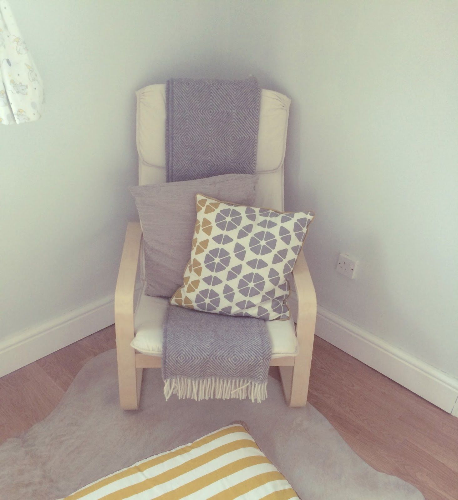 Ikea\u0027s PELLO chair is ideal for a nursery. It has great bounce and ...