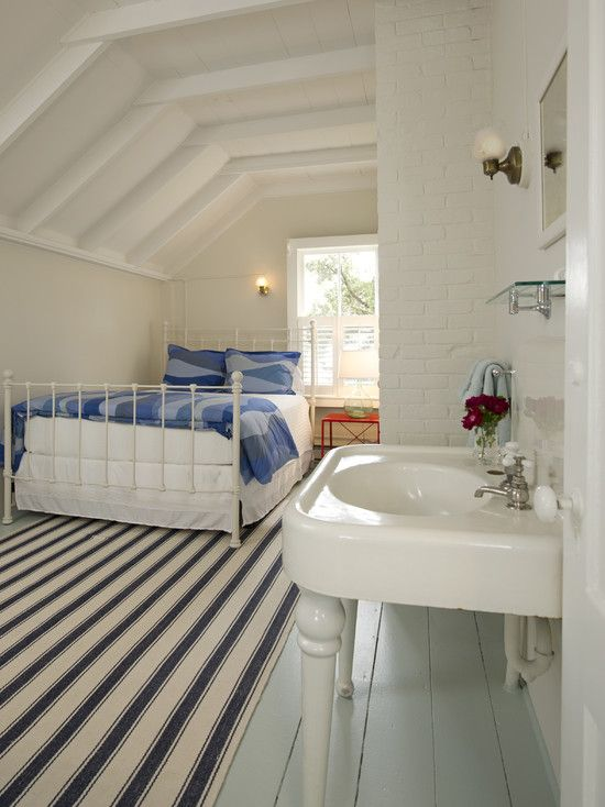 Painted Wood Floors Design Ideas Pictures Remodel And Decor Attic Rooms Attic House Attic Remodel