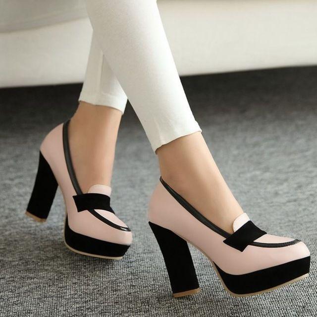 8d0a740b Señoras zapatos de tacón alto de las mujeres sexy vestido calzado dama de  la moda femenina de la marca bombas P13025 venta eur caliente 34-43