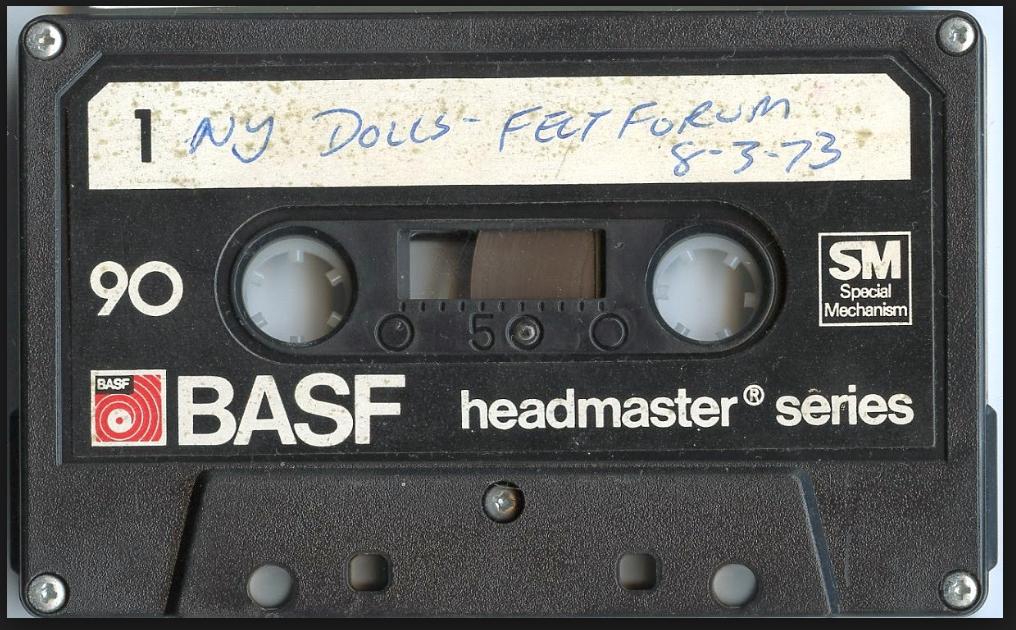 New York Dolls Felt Forum Demo Tape Vinyl
