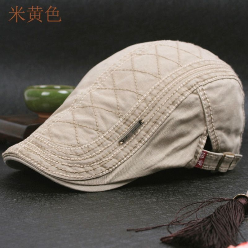 Unisex Mens Womens Casual Flat Cap Newsboy Cabbie Gatsby Ivy Driver Hats Navy