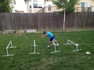 Preschool Hurdles · Dog BackyardDog Agility TrainingPvc ...