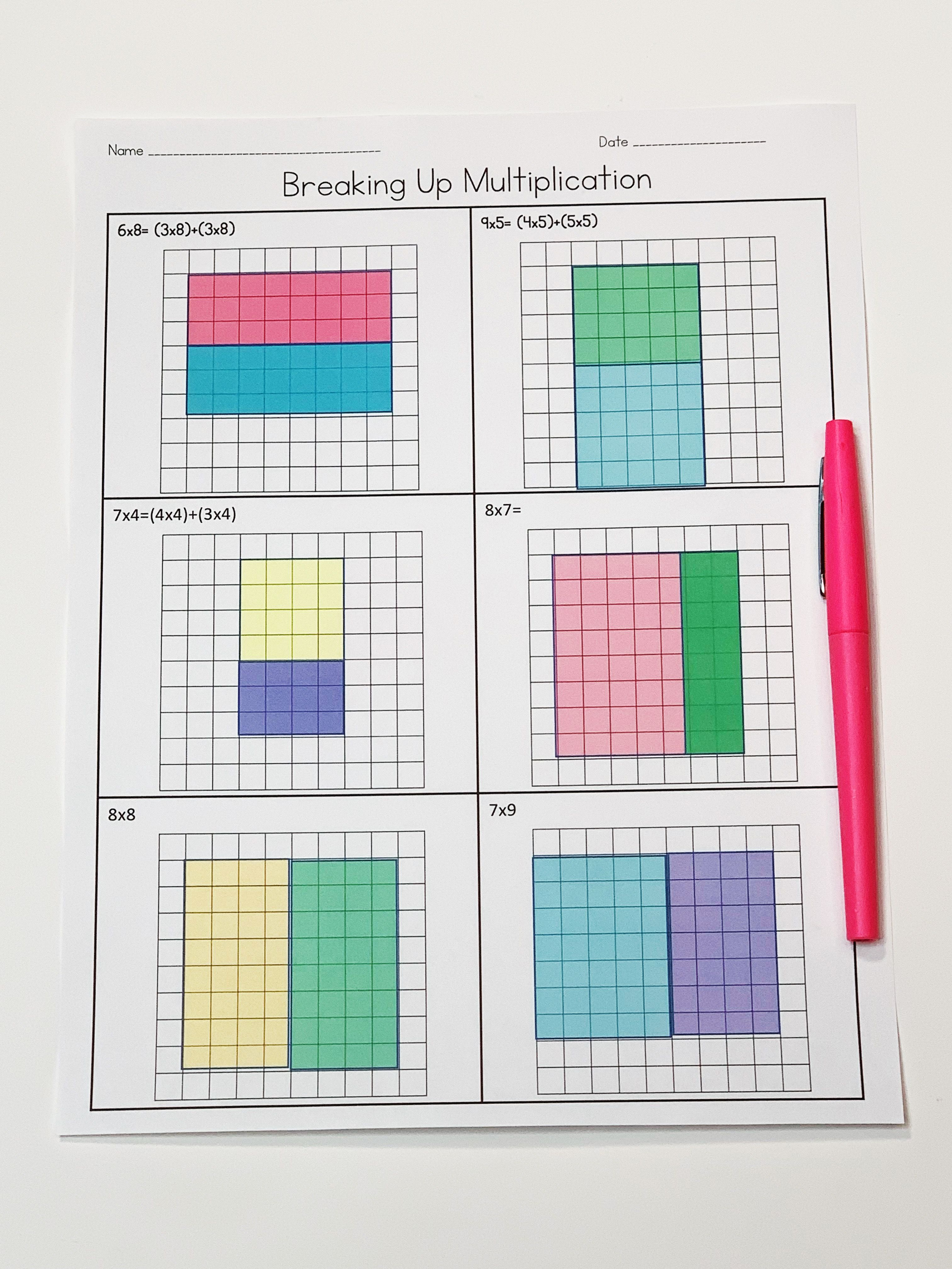 Distributive Property Activities