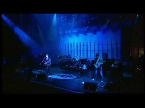 Seeing this footage brings back fond memories of the then 17 year old me watching the live coverage, absolutely mesmerised  by what I was seeing and hearing. All those little lights in that huge dark crowd. Magical stuff. Television at its best. Radiohead perform There There, the opening number of their Glastonbury  2003 headline set.