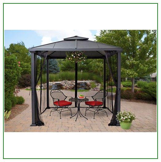 b3a1f7593c3d61440b1a79b7574c65c6 - Better Homes And Gardens Sullivan Ridge Hardtop Gazebo With Netting