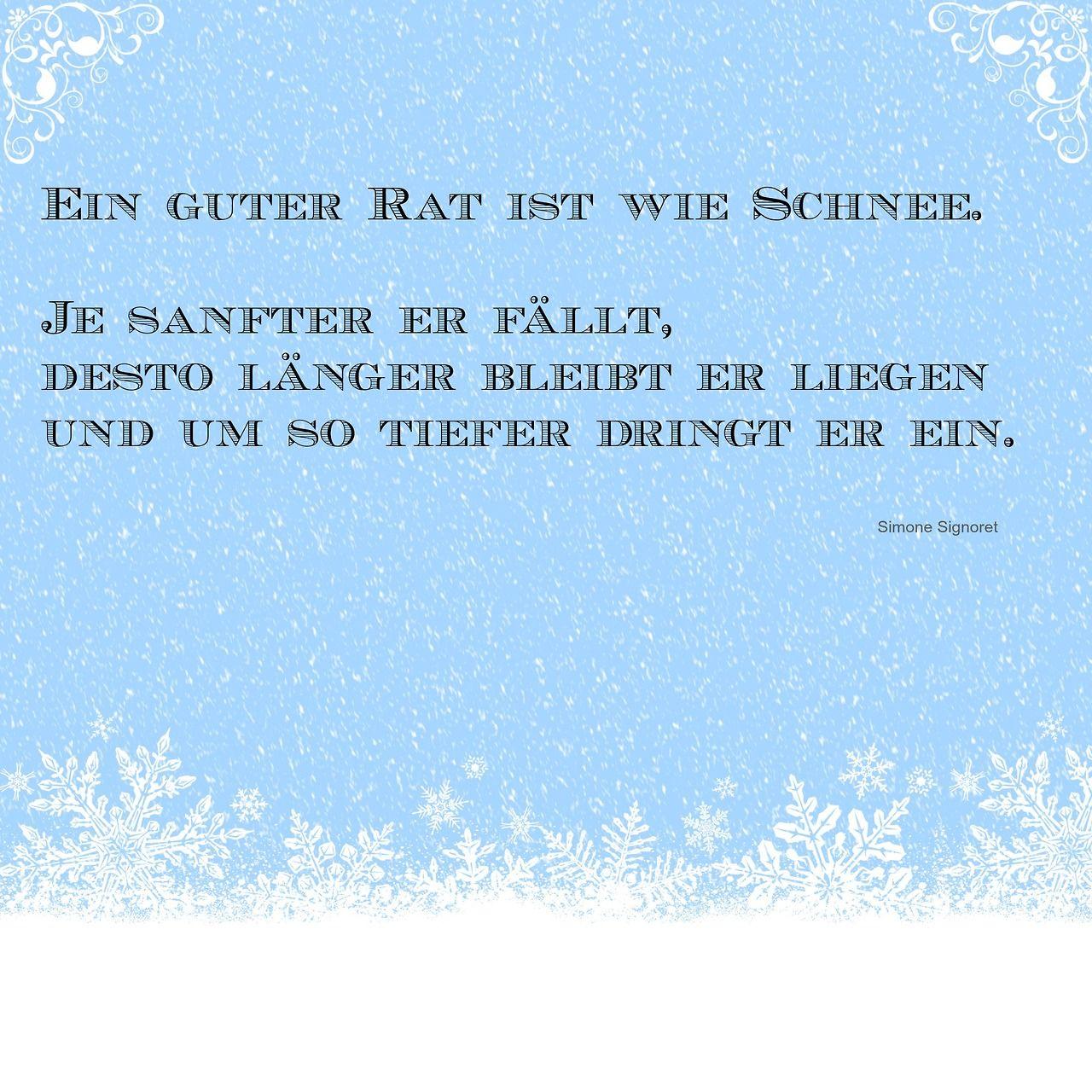 Schnee winterzeit weihnacht zitate zitate for Schnee zitate