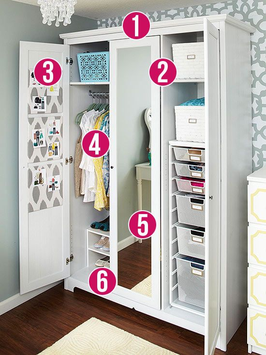 Good Freestanding Armoires Are Perfect For Customizable Storage Space To Take  The Place Of A Closet. Wire Shelving In Ready To Assemble Cabinets  Maximizes ...